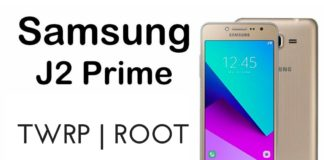 TWRP and Root Galaxy J2 Prime