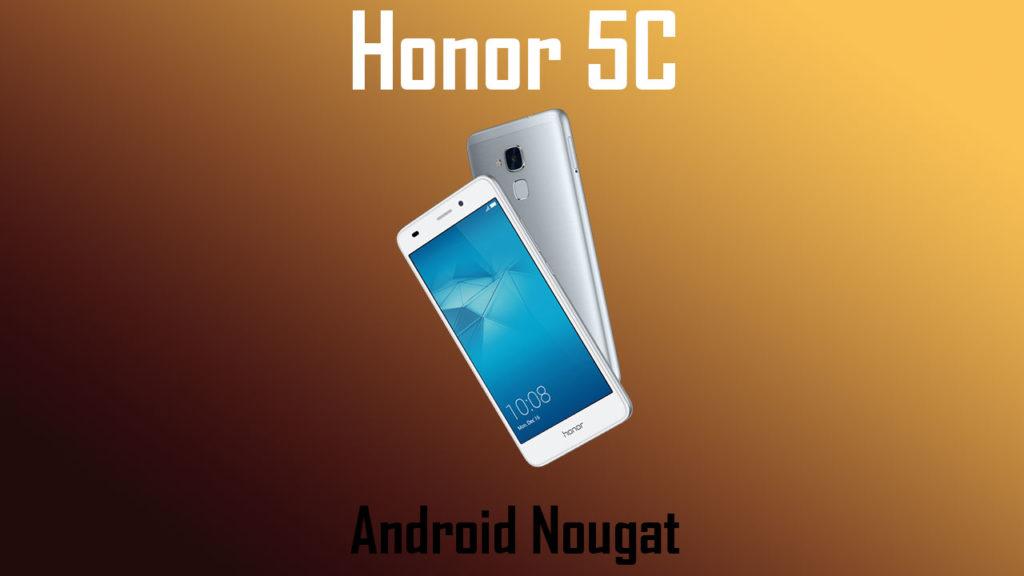 Download Honor 5C B320 Nougat Update [NEM-L22]