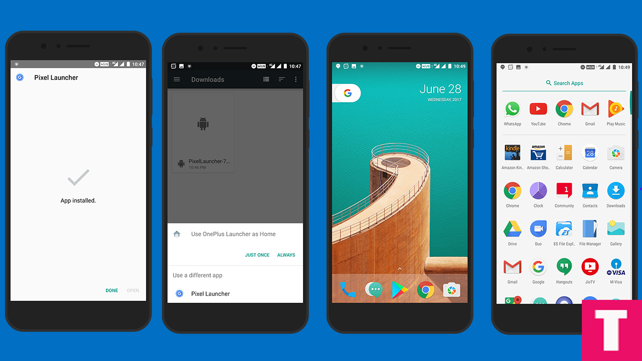 Download & Install Android O Google Pixel Launcher