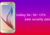 Galaxy S6 and S6 Edge getting June security patch with OTA update