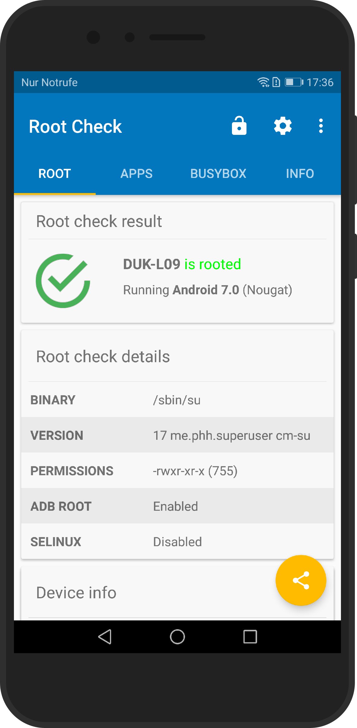 Honor P8 Pro rooted