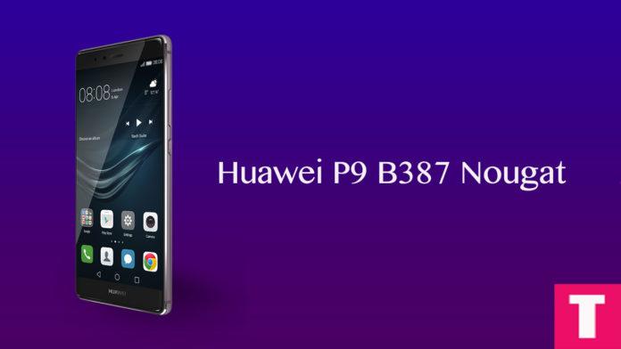 Huawei P9 B387 Nougat