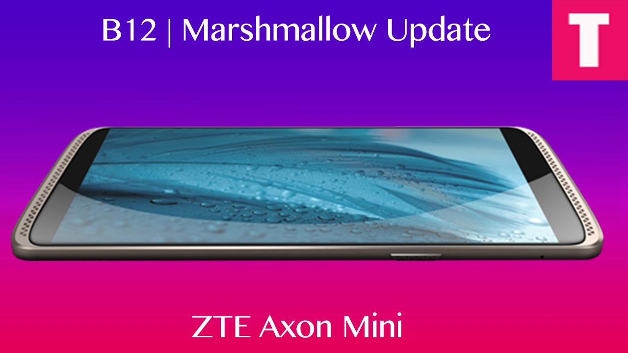 zte axon mini update the