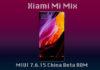 MIUI 7.6.15 On Xiaomi Mi Mix