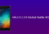 Download MIUI 8.5.3.0Global Stable ROM For Redmi 3s/Prime