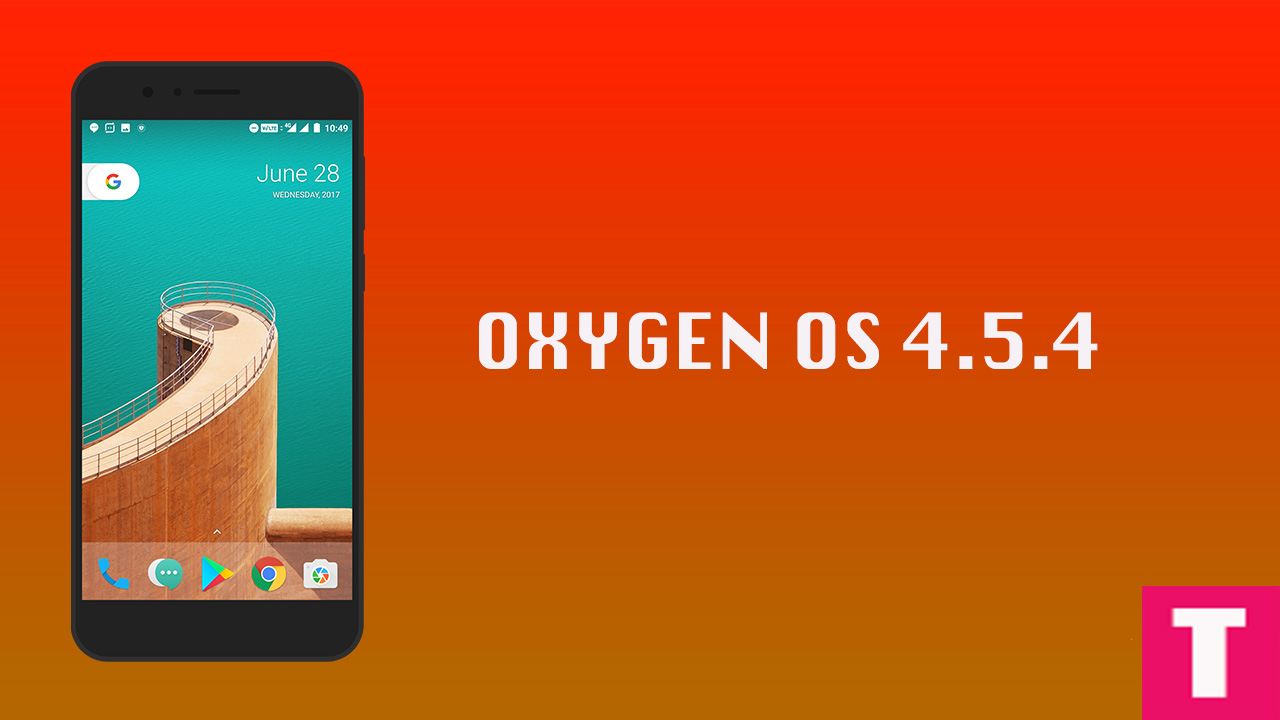 Manually Update OnePlus 5 To OxygenOs 454