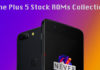 OnePlus 5 Stock Firmware Collection