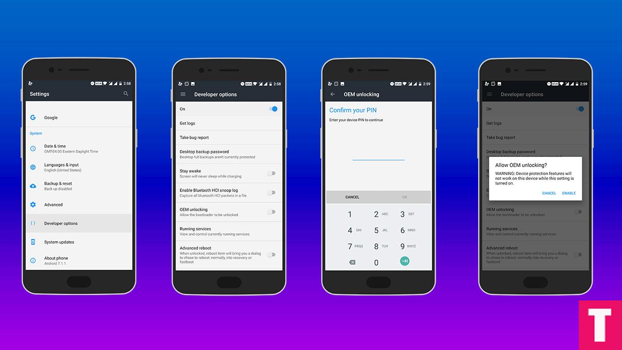 OnePlus OEM Unlocking