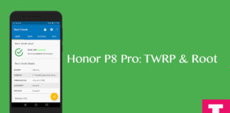 Root and Install TWRP on Huawei Honor 8 PRO