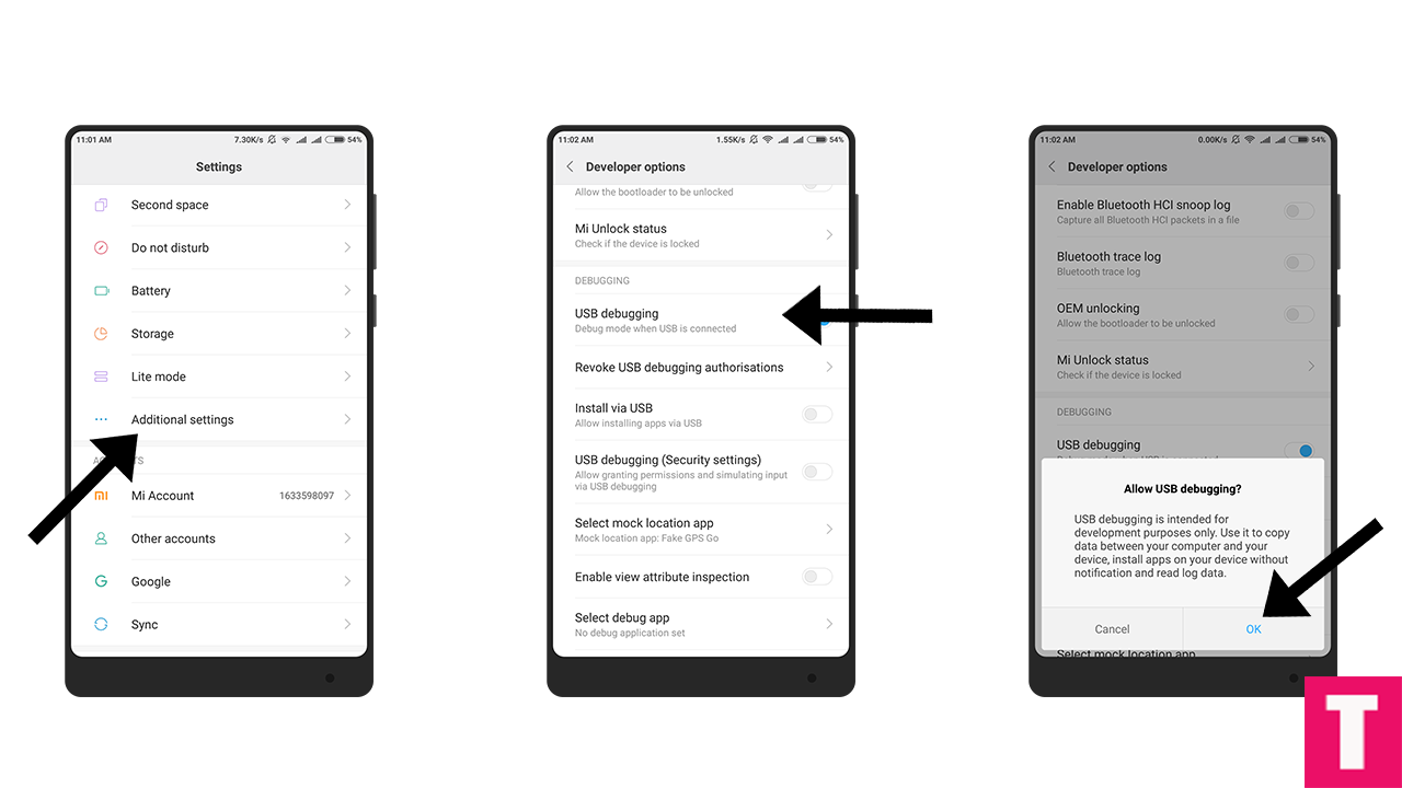 Xiaomi Android Debugging Enabled