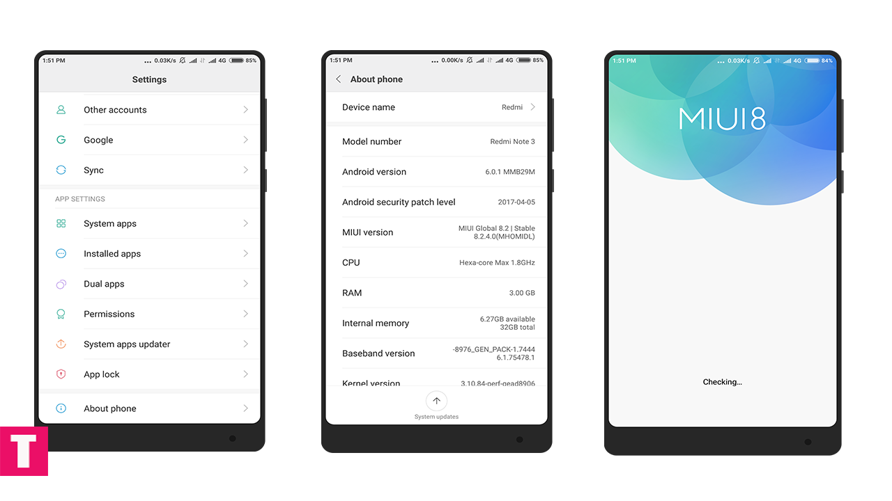 Xiaomi Finally Rolls Out Nougat Update To The Redmi Note 4: [Download] MIUI 8.2.12.0 Global Stable ROM For Xiaomi Redmi 4x