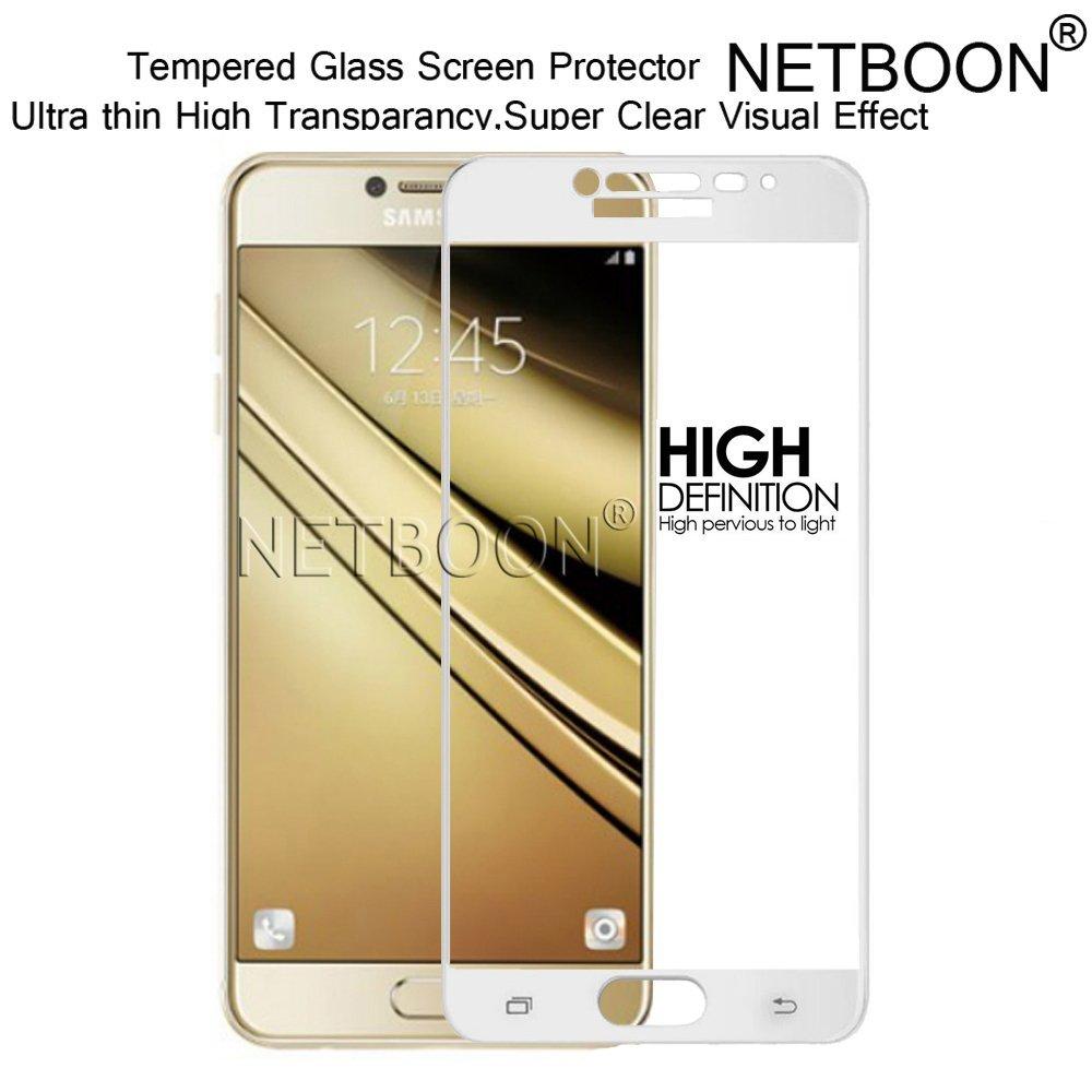 Netboon Original Samsung Galaxy C7 Pro Tempered Glass