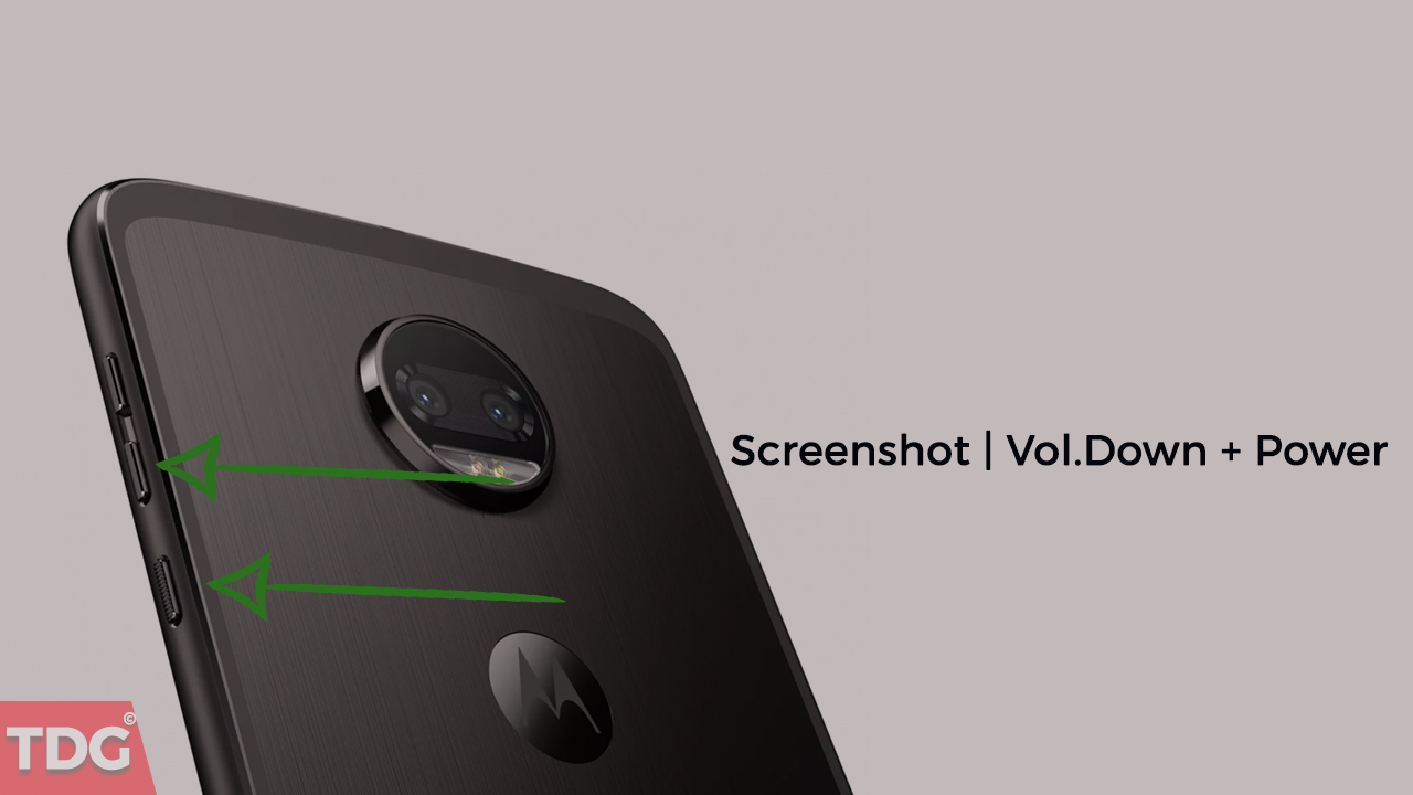 Take A Screenshot On Moto Z2 Force and Z2 Play