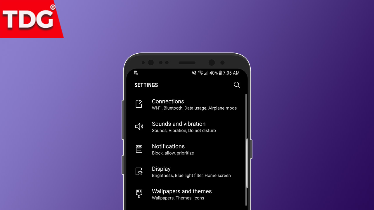 How To Get A System Wide Dark Theme On Galaxy S8 S8