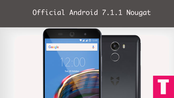 Android 7.1.2 Nougat On Wileyfox Swift 2/Plus