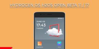 Hydrogen OS H2OS Open Beta 11