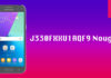 J330FXXU1AQF9 Nougat Update For J3-SM-j330