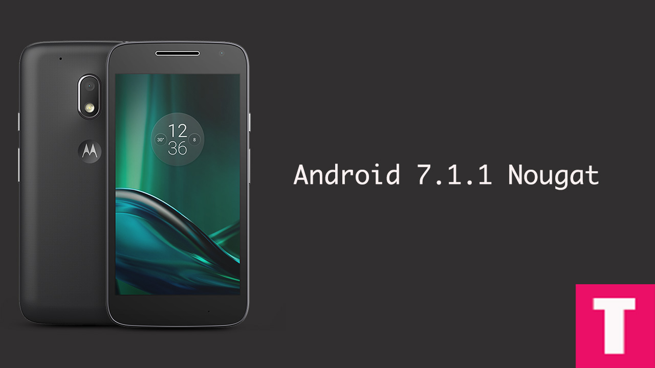 Moto G4 Update Android 7