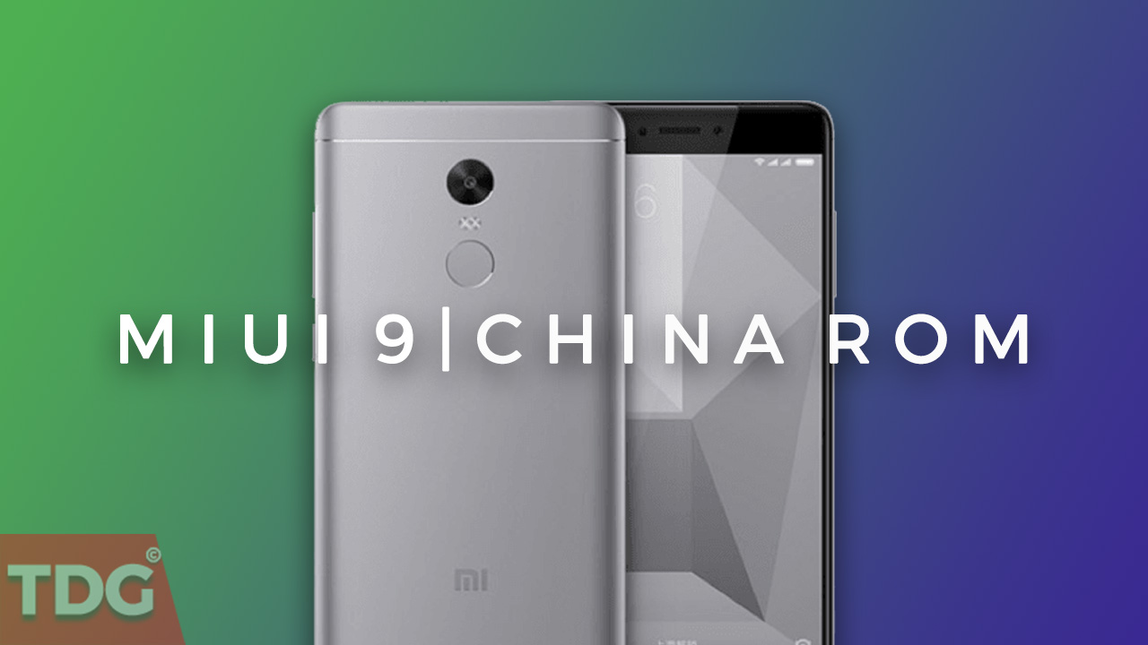 official miui 9 china rom for redmi note 4x
