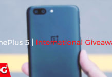 OnePlus 5 International Giveaway by TheDroidGuru