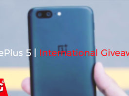 OnePlus 5 International Giveaway by TheDroidGuru