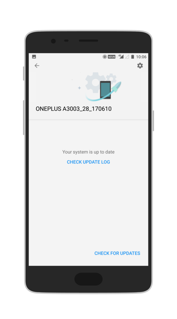 OnePlus Check For Updates