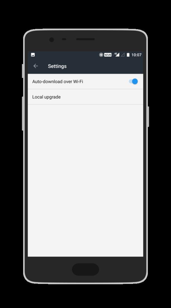 OnePlus Local Updates