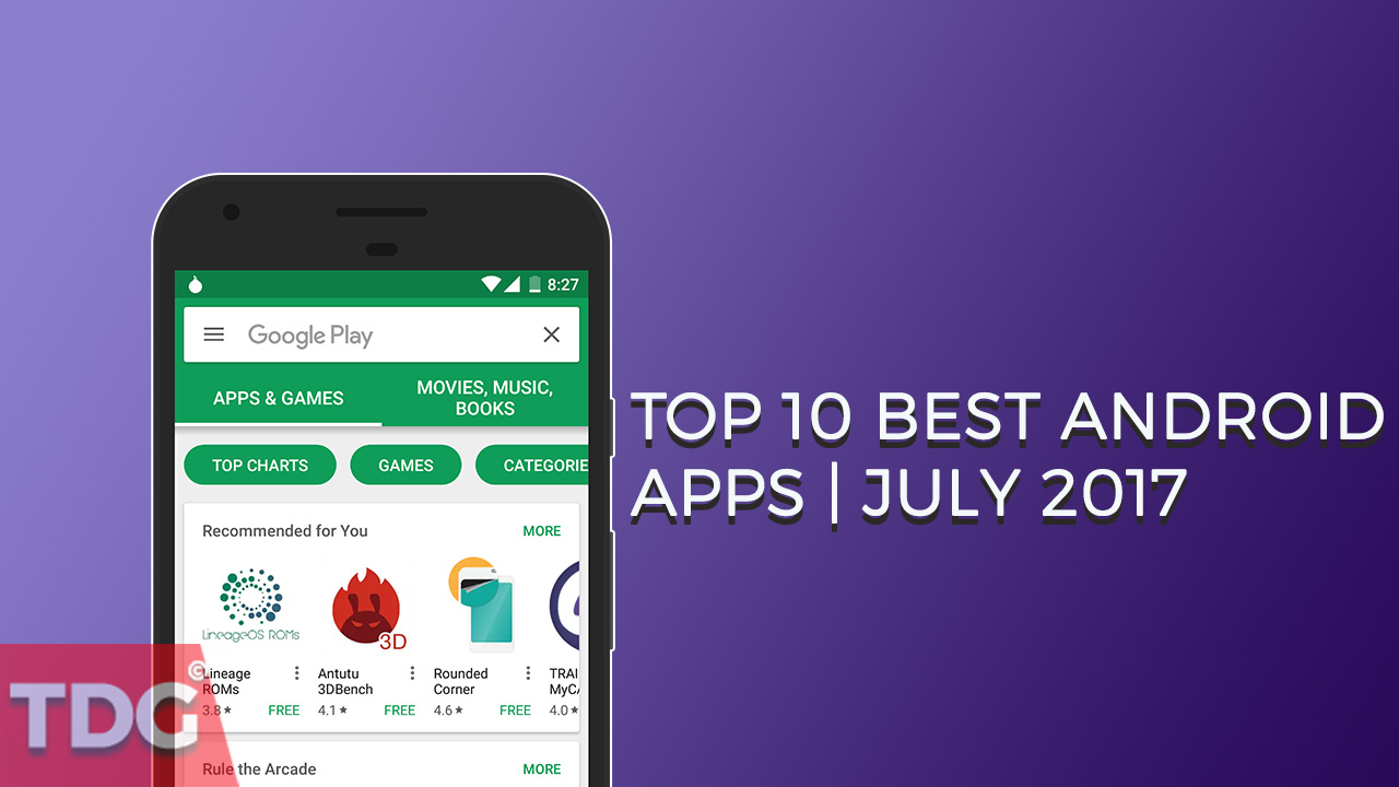 top 10 best android apps of july 2017 new apps the droid guru. Black Bedroom Furniture Sets. Home Design Ideas
