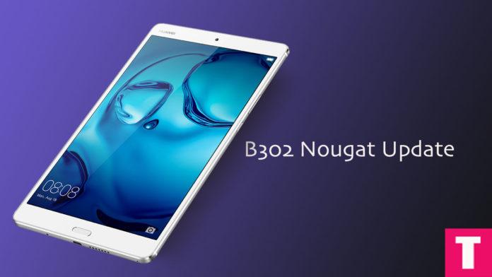 UpdateMediaPad M3 To B302 Nougat | Android 7.0