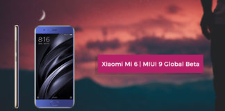 Official MIUI 9 Global Beta ROM 7.8.10 For Xiaomi Mi 6