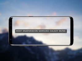 Root Snapdragon Samsung Galaxy S8 and S8+ (US Variants)