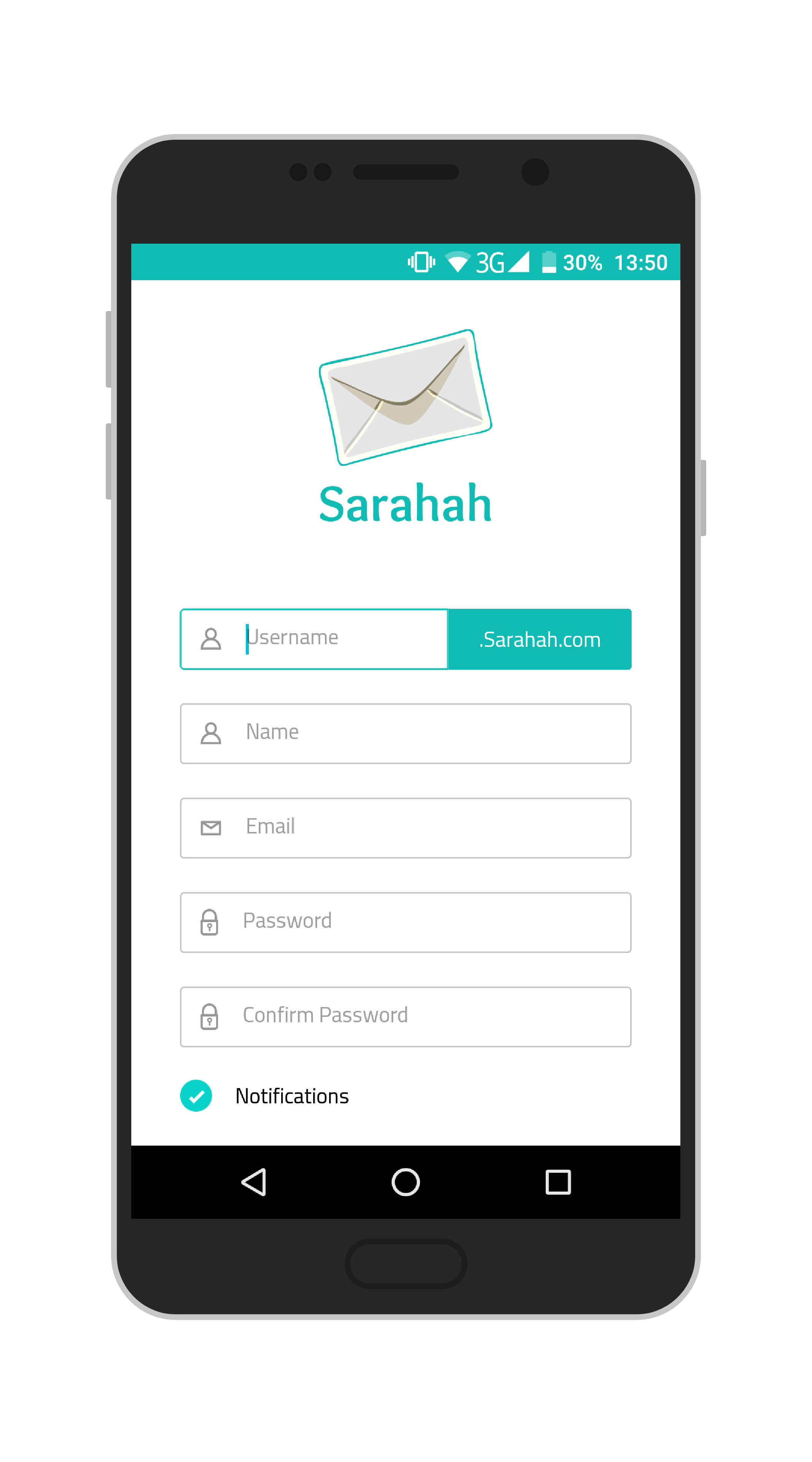 Sarahah Account