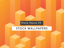 Download Sharp Aquos Z3 Stock QHD Wallpapers
