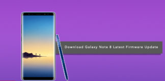 Download and Install Samsung Galaxy Note 8 Latest Firmware Update