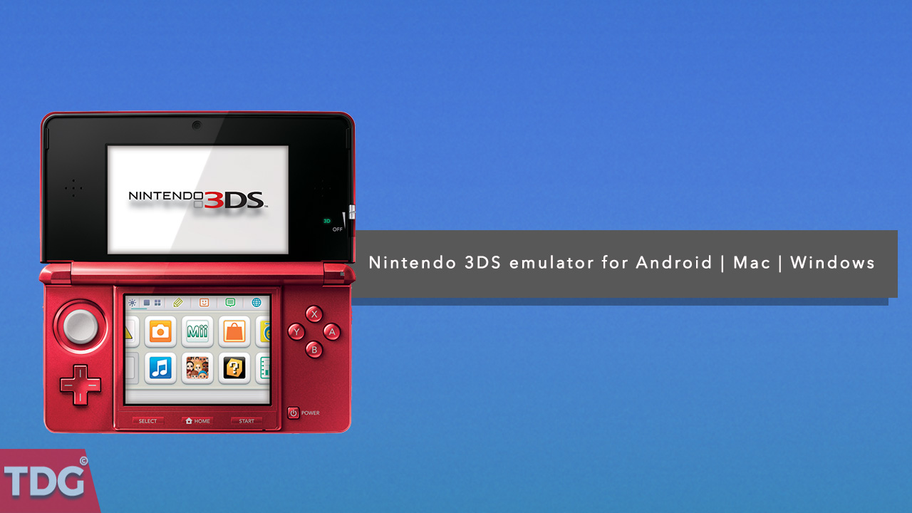 Nintendo Ds Emulator For Mac