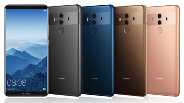 Download the wallpapers of Huawei Mate 10