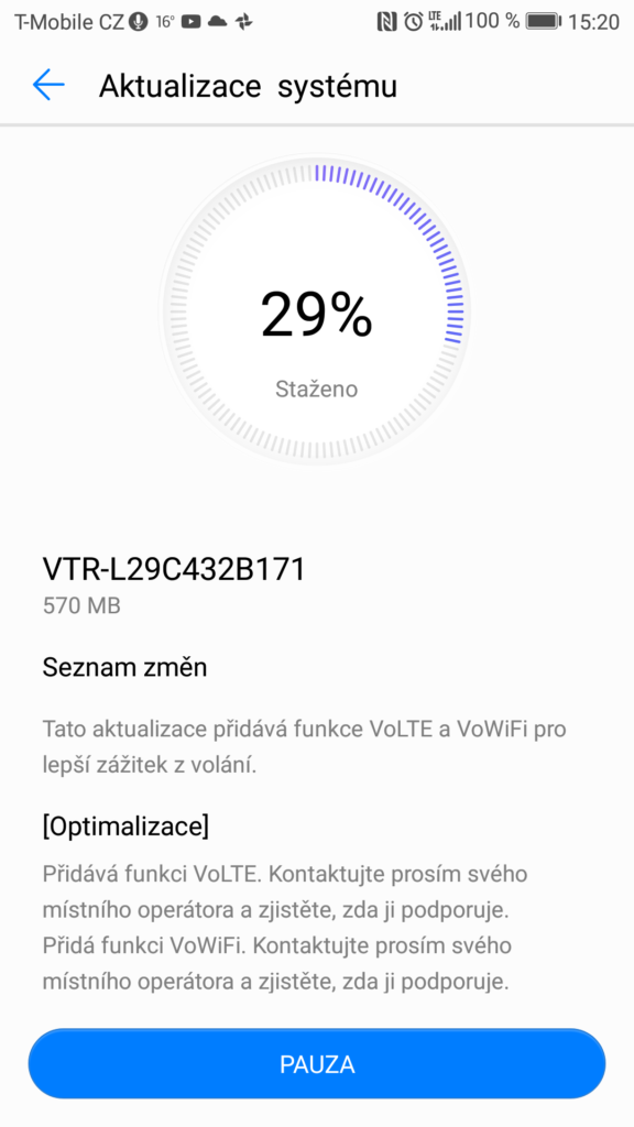 VoLTE functions reach the Huawei P10 with its latest update