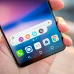 Download the LG V30 Floating Bar app on your phone
