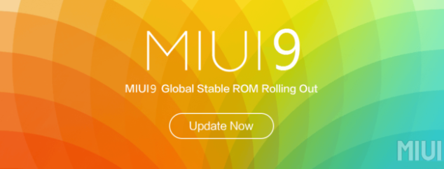 These 19 Xiaomi phones will be able to upgrade to MIUI 9 in November