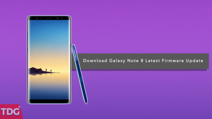 Download and Install Galaxy Note 8 N950F XXU1AQI4 Android