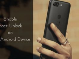 EnableFace Unlock on Any Android Device