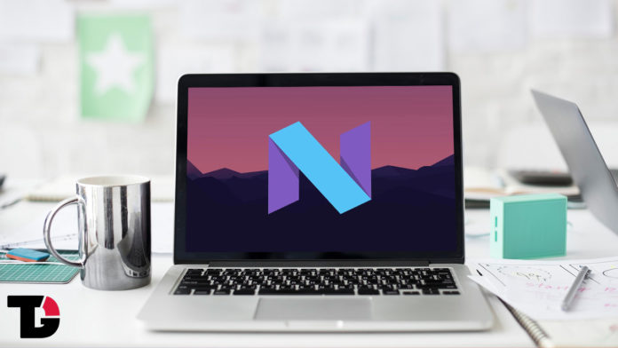 Android Nougat On PC/Laptop WithAndroid x86 7.1 R1