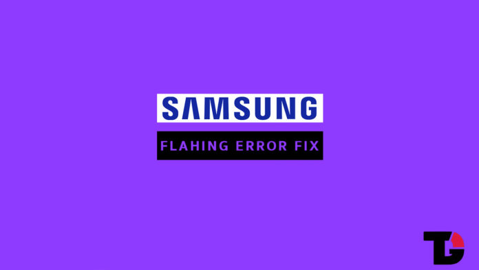 Fix Oreo Firmware Flashing Error With Odin For Samsung Devices