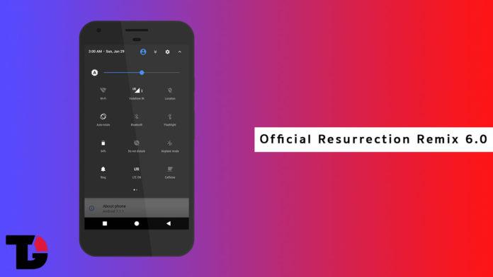 Official Resurrection Remix 6.0 Is Now Live