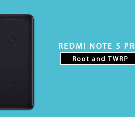 Install TWRP Recovery and Root Redmi Note 5 Pro (whyred)