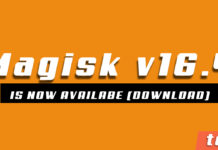 Magisk v16.4 and Magisk Manager 5.7.0