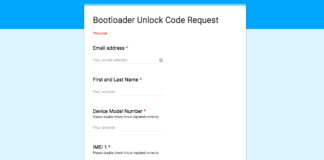 Honor/Huawei's Bootloader Unlock Code Request Doc