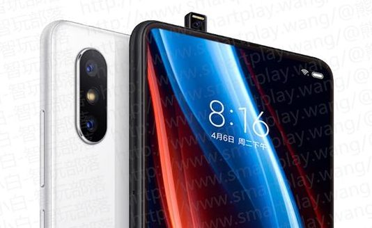 Xiaomi Mi Mix 3 Teaser Revealed - bezel-less display with pop-up front camera