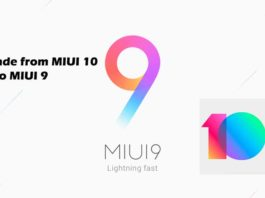 How to Downgrade from MIUI 10 to MIUI 9 on any Xiaomi device - Full Guide