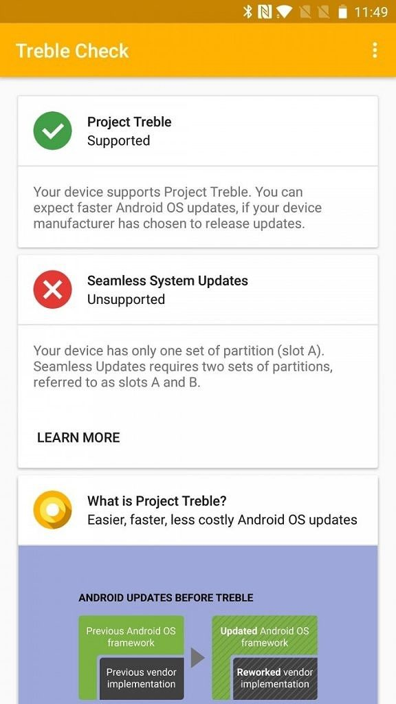 OxygenOS Latest Beta update supports Project Treble for OnePlus 5 and 5T devices
